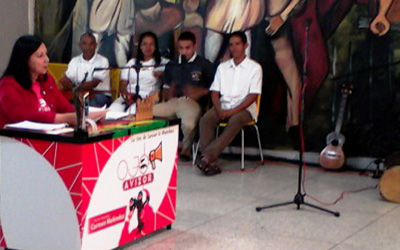 Meléndez: UNES Lara es referencia en materia de agricultura urbana