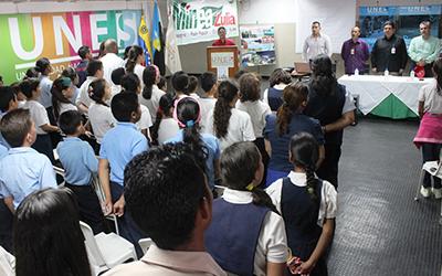 UNES inicia el programa A Tres R con las Brigadas Escolares de Paz