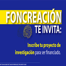 FONCREACION apertura concurso en apoyo a la creación Intelectual 2016