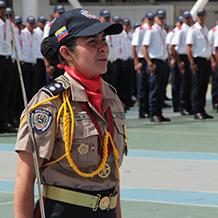 Día Nacional del Policía fue enaltecido por la UNES