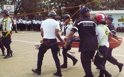 Activada brigada de rescate pre-hospitalario en UNES Falcón