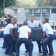 Unesistas fomentan la actividad física y deportiva para la paz
