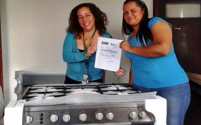 "Trabajadores de UNES Portuguesa se benefician ""Mi Casa Bien Equipada"""