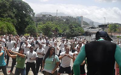 UNES El Cafetal se activó para celebrar el Día del Desafío