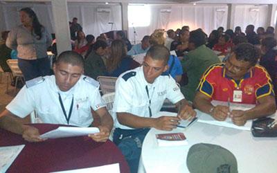 En UNES se discutió sobre  temas de seguridad para la Constituyente en Apure