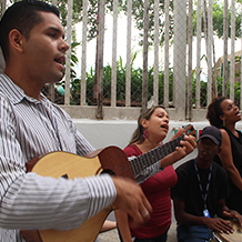 "UNES realizó ""IV Feria del Servicio Comunitario Nelson Mandela"""