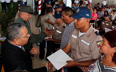UNES Zulia certificó a 336 servidores de Seguridad Ciudadana