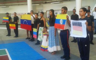 Conmemorados 211 años de la Bandera Nacional