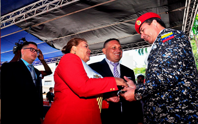 CMBI y Alcaldía de Barquisimeto reconoce labor de la UNES