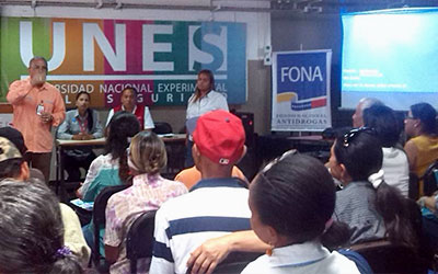 FONA capacita a comunidades para la elaboración de proyectos de prevención integral