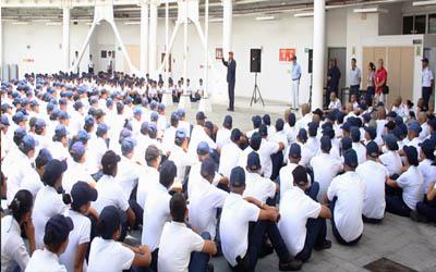 La disciplina es eje fundamental dentro de la UNES