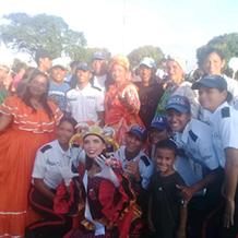 UNES Bolívar celebró el carnaval 2020