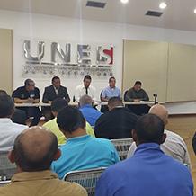 Encuentro con directores de seguridad de las universidades