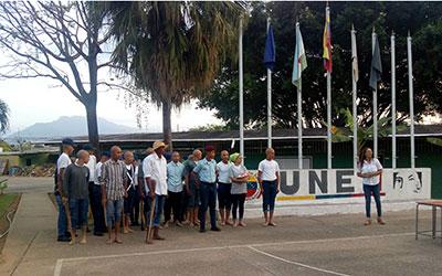 UNES conmemoró 203 años del natalicio del General Ezequiel Zamora