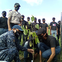 Estudiantes del Cefo Yaracuy realizaron siembra del Samán en alusión al Samán de Güere monumento histórico de la naturaleza
