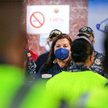 Ejecutivo avanza en el fortalecimiento de los Cuadrantes de Paz en Caracas