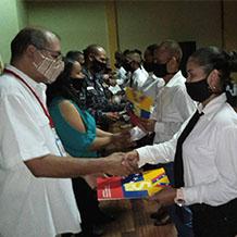 112 Nuevos Guardianes de Paz egresan desde la UNES sede Yaracuy